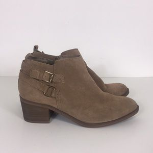 Sonoma Tan Leather Booties